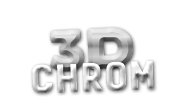3D-Chrometiketten Icon